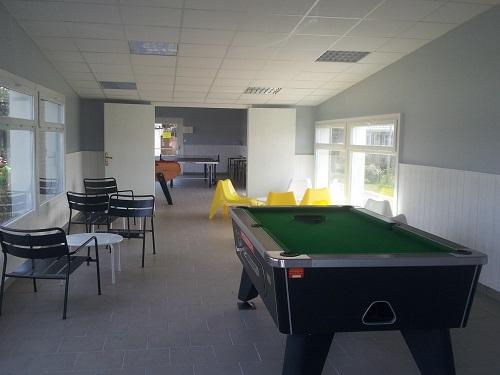 Salle de jeux - Camping La Foret Stella Plage, réservation de mobil-home et emplacement en bord de mer